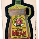 Mr. Mean Trading Card 1980 Topps Wacky Packages 159/198