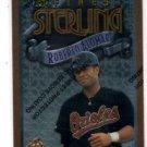 Roberto Alomar Sterling Trading Card 1996 Topps Finest #S28 228 Orioles