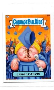 Capped Calvin Trading Card Single 2013 Topps Garbage Pail Kids MIni #61a