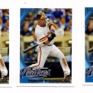 Yorvit Torrealba Trading Card Lot of (3) 2010 Topps Update Series #US217 Padres