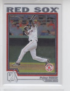 Pokey Reese Trading Card Single 2004 Topps Traded Chrome #T1 Red Sox