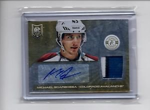 Michael Sgarbossa Auto RC Patch 3 Color 2013-14 Totally Certified Gold Patch /10