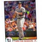 Carlos Rodon Trading Card Single 2016 Topps Archives #134 White Sox