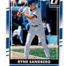 Ryne Sandberg Trading Card Single 2016 Donruss 177 Cubs