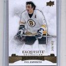 Phil Esposito Exquisite Insert 2015-16 Upper Deck Ice #41 Bruins 144/499