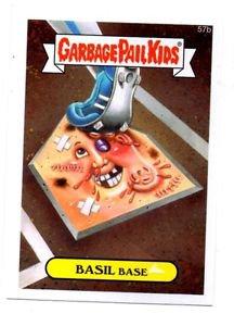Basil Base Trading Card Single 2015 Topps Garbage Pail Kids #57b