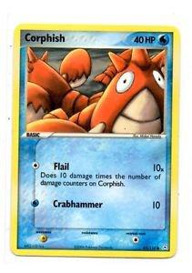 Corphish Trading Card Pokemon EX Holon Phantoms 63/110 x1