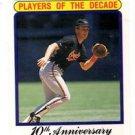 Cal Ripken Jr Player of the Decade Trading Card Single 1990 Fleer #624 Orioles