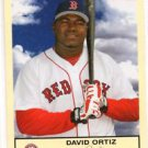 David Ortiz Trading Card Single 2005 Fleer Tradition #157 Red Sox