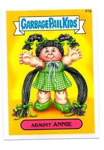 Armpit Anne Single 2015 Topps Garbage Pail Kids 41a