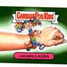 Laughing Laura Single 2015 Topps Garbage Pail Kids #25b