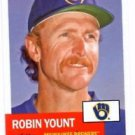 Robin Yount Trading Card Single 2016 Topps Archives #12 Brewers