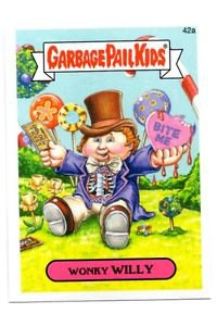 Wonky Willy Single 2015 Topps Garbage Pail Kids #42a