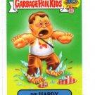 Die Hardy 80s Spoof Insert Sticker 2015 Topps Garbage Pail Kids #17a