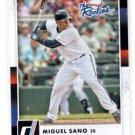 Miguel Sano The Rookies Insert 2016 Donruss #TR5 Twins