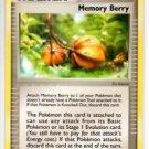 Memory Berry Uncommon Trading Card Pokemon EX Platinum #60/100 x1