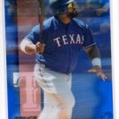 Prince Fielder Blue Refractor Trading Card 2016 Topps Finest #96 Rangers 008/150