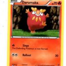 Darumaka Trading Card Pokemon Black & White #24/114 x1