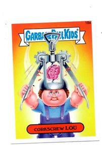Corkscrew Lou Single 2015 Topps Garbage Pail Kids #18a