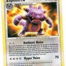 Exploud Rare Trading Card Pokemon EX Crystal Guardians 17/106 x1