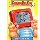 Sketched Sal Single 2013 Topps Garbage Pail Kids #74a