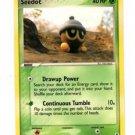 Seedot Trading Card Pokemon EX Legend Maker 61/92 x1