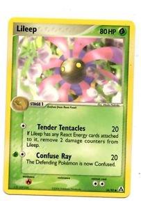 Lileep Common Trading Card Pokemon EX Legend Maker #56/92 x1