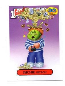 Ritchie Retch Adam Bomb Don't Push Button 2015 Topps Garbage Pail Kids #2a