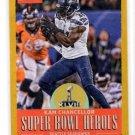 Kam Chancellor Gold Super Bowl Heroes Single 2017 Classics #SBHKC Seahawks