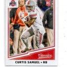 Curtis Samuel RC Trading Card Single 2017 Panini Classics #222