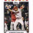 Chris Young Trading Card Single 2008 Topps #179 Diamondbacks