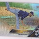 James Shields Prism Refractor Trading Card Single 2016 Topps Chrome #91