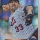 Matt Harvey Prism Refractors Trading Card 2016 Topps Chrome #97 Mets