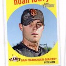 Noah Lowry Trading Card Single 2008 Topps Heritage #420 Giants