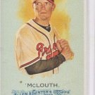Nate McLouth SP Trading Card Single 2010 Topps Allen & Ginter #316 Braves