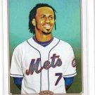 Jose Reyes Trading Card Single 2010 Topps 206 #282 Mets