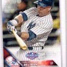Carlos Beltran Trading Card Single 2016 Topps Opening Day #45 Yankees