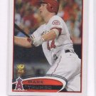 Mark Trumbo Trading Card 2012 Topps #106 Angels