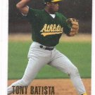Tony Batista RC Trading Card Single 1996 Fleer Update #U70 Athletics