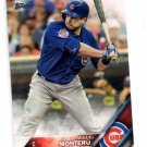 Miguel Montero Trading Card Single 2016 Topps #36 Cubs