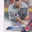 Corey Kluber Trading Card Single 2016 Topps Opening Day #OD93 Indians