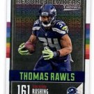 Thomas Rawls Record Breakers Single 2017 Classics #13 Seahawks