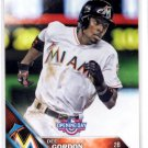Dee Gordon Trading Card 2016 Topps Opening Day #129 Marlins