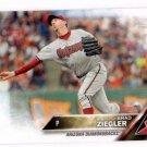 Brad Ziegler Trading Card Single 2016 Topps 25 Diamondbacks