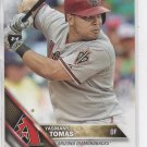 Yasmani Tomas Trading Card Single 2016 Topps #186 Diamondbacks