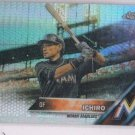 Ichiro Prism Refractors Trading Card 2016 Topps Chrome #116 Marlins