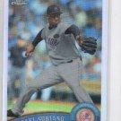 Rafael Soriano Refractor Trading Card 2011 Topps Chrome #36 Yankees