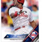 Maikel Franco Trading Card Single 2016 Topps #207 Phillies