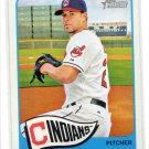 Corey Kluber Trading Card 2014 Topps Heritage #338 Indians