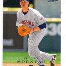 Justin Morneau Trading Card Single 2008 Upper Deck #566 Twins